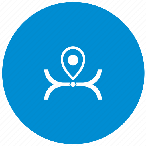 location, logistic, map, place, road icon