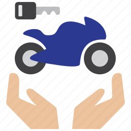 bike, care, insurance, key, motorbike, motorcycle, owner icon