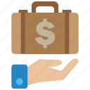 business, finance, payment icon