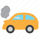 accident, break, car, crash, hazard, insurance, risk icon