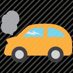 accident, break, car, crash, hazard, insurance, risk icon