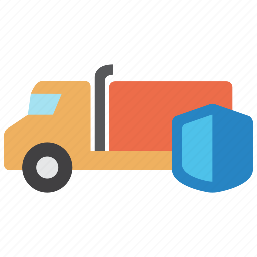 auto, commercial, insurance, transport, truck, van, vehicle icon