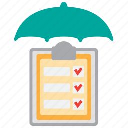 accounting, audit, bookkeeping, check, insurance, safety, security icon