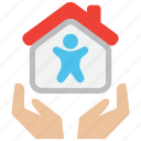 house, insurance, life, mortage, protection, safety, security icon