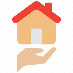 building, care, home, house, property, protection, real estate icon