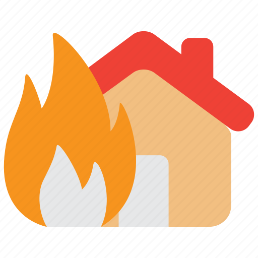 fire, flame, hazard, indemnity, insurance, property, risk icon
