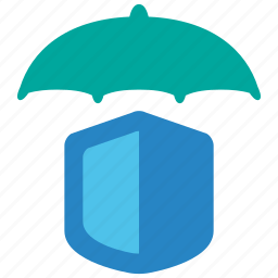 business, indemnity, insurance, protection, secure, security, umbrella icon