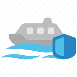 boat, indemnity, insurance, sea, ship, vessel, yacht icon