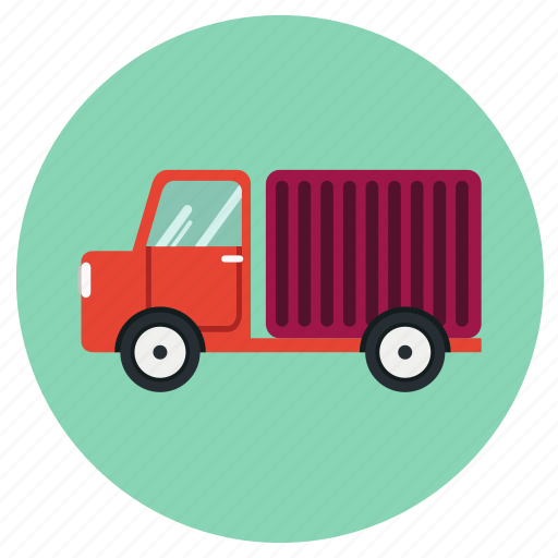 delivery, lorry, road, transport, truck icon