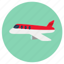 airoplane, flight, plane icon