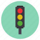 road, signal, traffic, transport icon