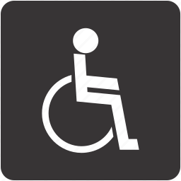auto, disabled, invalid, navigation, sign icon