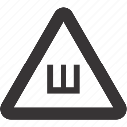 auto, sign, snow, tyre icon