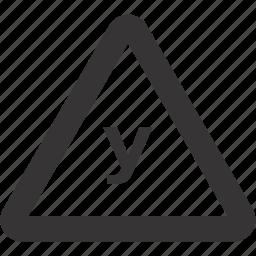auto, road, sign, taining, vehicle icon