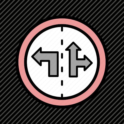 control lane, road, traffic icon