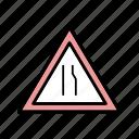 ahead, carriageway, dual carriageway icon