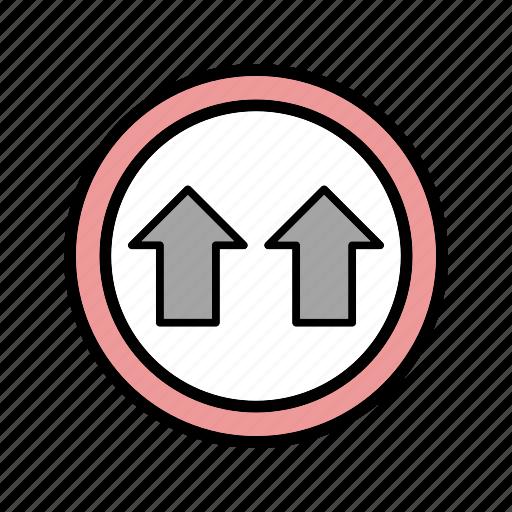 give way, road, way icon