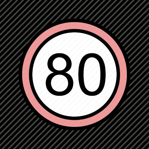 dashboard, sign, speed limit icon