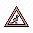 animal crossing, attention, sign icon