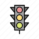attention, road signal, signals, traffic icon