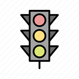 attention, road signal, traffic icon