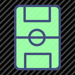 field, football, match, soccer, sport icon