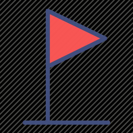 corner, flag, football, soccer, sport icon