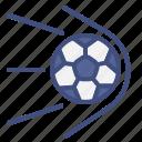 football, goal, shot, soccer, sport