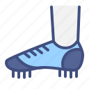 sport, shoes, football, player, foot, soccer icon