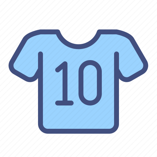 football, jersey, player, soccer, sport, uniform icon