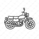 classic, bike, classic motorbike, motorcycle, cycling, motorbike, ride