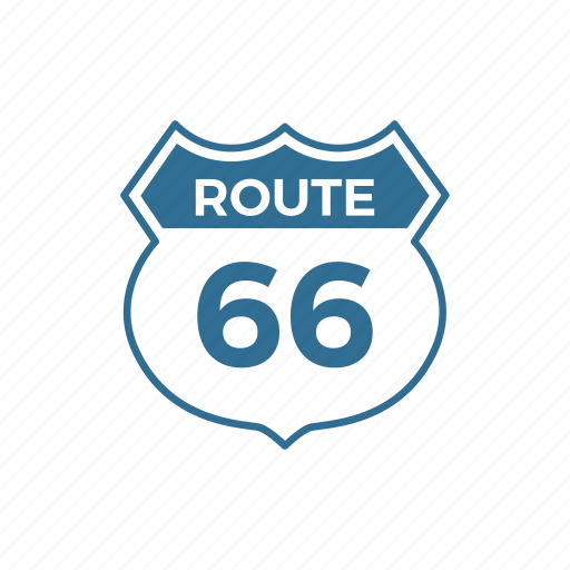 emblem, highway, roadside, roadtrip, route, sign, traffic icon