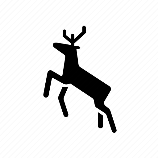 animal, deer, eco, forest, hunt, nature, wild icon