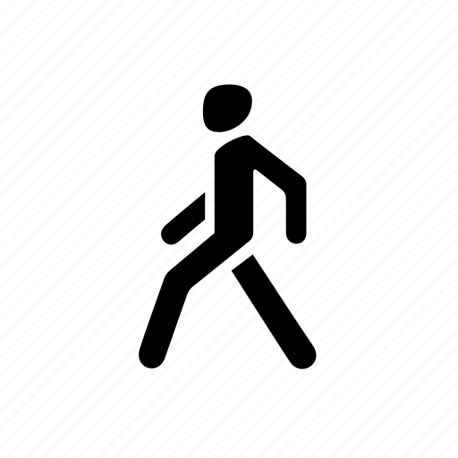 go, man, pedestrian, person, walk, walking icon