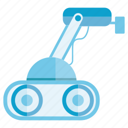 auto, automation, industry, manufacturing, rescue robot, robot, robotic icon