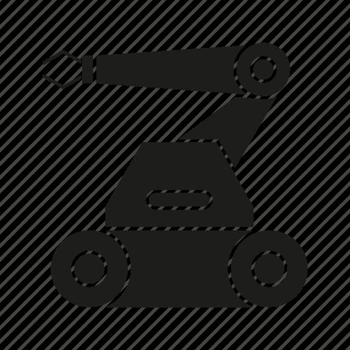 automation, machine, manufacturing, production, rescue robot, robot, robotics icon