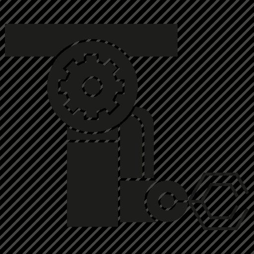 automation, machine, manufacturing, production, robot, robotics icon