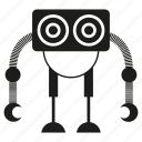 android, cartoon, character, cyborg, mascoy, robot, toy icon