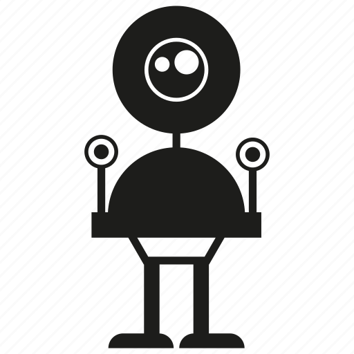 android, cartoon, character, cyborg, monster, robot, toy icon