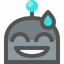emoji, robot, sorry icon