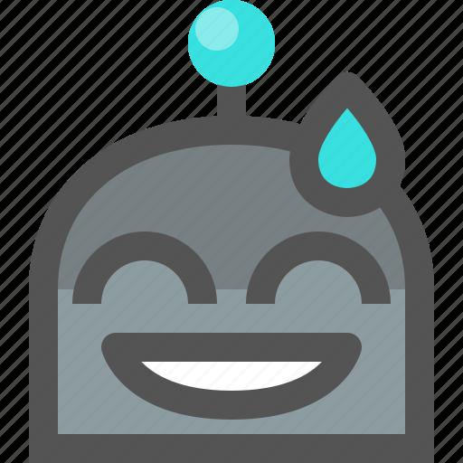 emoji, robot, sorry icon