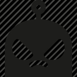 angry, emoji, robot icon