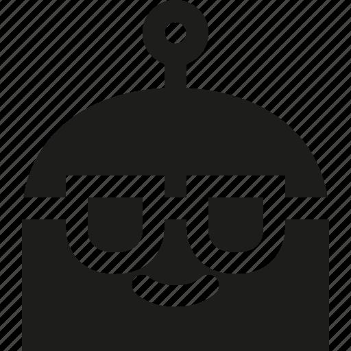 emoji, robot, sunglasses icon