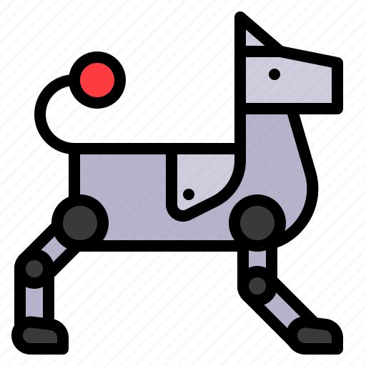 Dog, machine, pet, robot, robotics icon - Download on Iconfinder