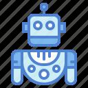 machine, robot, robotic, technology, toy icon