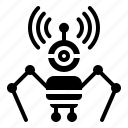 avartar, drone, machine, robot, robot navigation, robotics icon