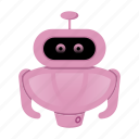 android, character, cyborg, robot, robot cartoon icon