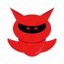 character, cyborg, devil, robot icon