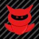 character, cyborg, devil, robot