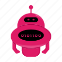 cyborg, robot, robot cartoon icon